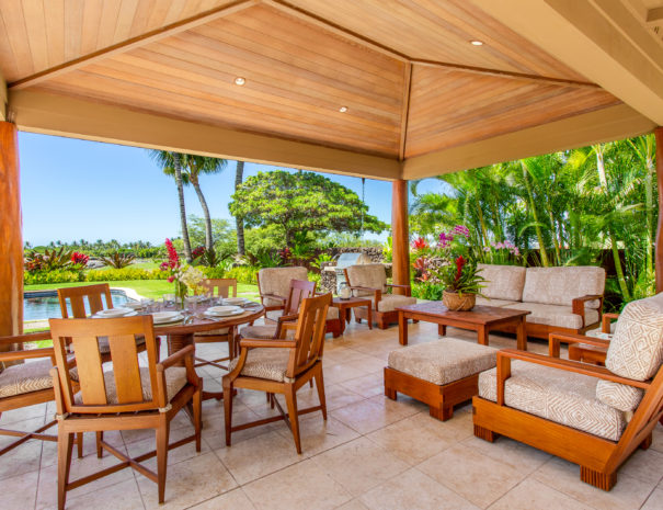 14. HAK2 Lanai Seating Area Overview